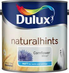 Dulux Natural Hints Matt 2.5L - Cornflower White