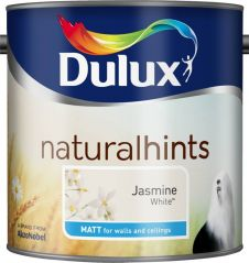 Dulux Natural Hints Matt 2.5L - Jasmine White