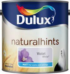 Dulux Natural Hints Matt 2.5L - Violet White