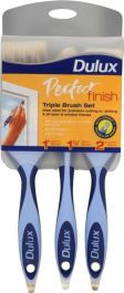 Dulux Perfect Finish Brush Set - Triple Pack