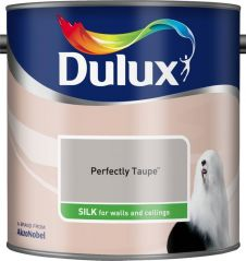Dulux Silk 2.5L - Perfectly Taupe
