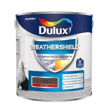 Dulux Weathershield Exterior Gloss 2.5L - Conker