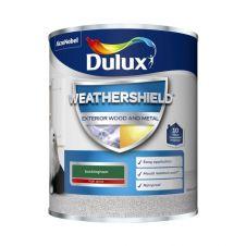 Dulux Weathershield Exterior Gloss 750ml - Buckingham