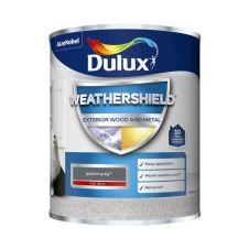 Dulux Weathershield Exterior Gloss 750ml - Gallant Grey