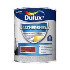 Dulux Weathershield Exterior Gloss 750ml - Monarch