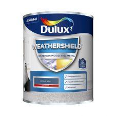Dulux Weathershield Exterior Gloss 750ml - Oxford Blue