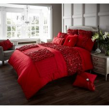 DUVET SET VERINA RED