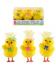 Easter Chicks Yellow 4 Cm 3 Assorted