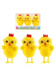 Easter Chicks Yellow W/glasses 6cm