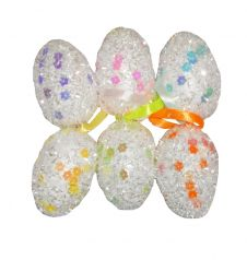 Easter Glitter Eggs (Pack Of 6)