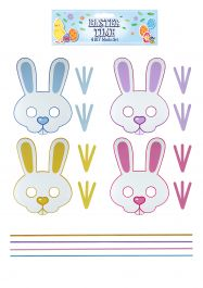 Easter Mask Craft Diy (12 Pcs Set)