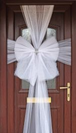Eleganza Door Bow White