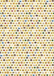 Emoji Roll Wrap (2 meter)