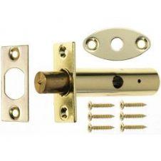 Era Door Security Bolt - Brass Effect Twin Pack