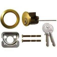 Era Replacement Cylinders (Dia)32.5 x (L)80 - Finish: Brass