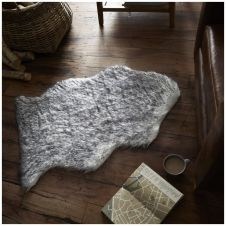 FAUX FUR HUSKY RUG 60X90 GREY 6574
