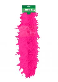 Feather Boa 150cm Hot Pink