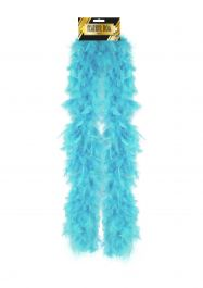 Feather Boa 150cm Pale Blue