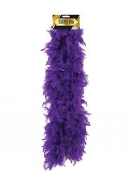 Feather Boa 150cm Purple