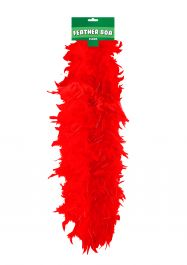 Feather Boa 150cm Red