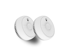 FireAngel Smoke Alarm With 1 Year Battery - Twin Pack