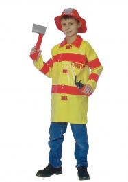 Fireman Childrens Costume