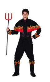 Flaming Devil Adult Costume