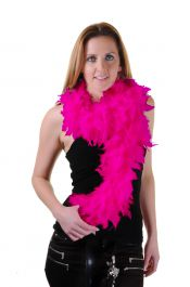 Fuchsia Feather Boa High Quality