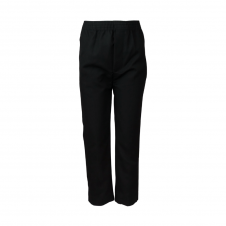 Full Round Elastic Waist Pull Up Trouser