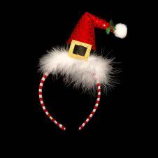 Funky Santa Hat on Headband