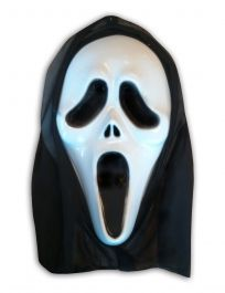 Ghost Mask With Hood
