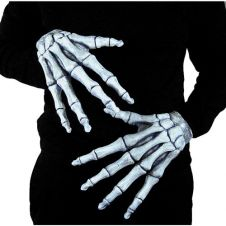 Ghostly Bones Halloween Hands