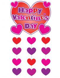 Giant Valentines Hanging