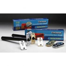 Gibcloser Concealed Chain Door Closer - 18 x 5 x 2.5cm - Polished Chrome