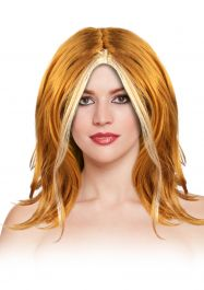 Girl Ginger Wig 130G