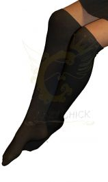 GIRLS KNEE HIGH SOCKS BLACK (12pairs)