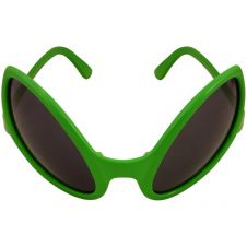 Glasses Adult Alien Green Dark Lens