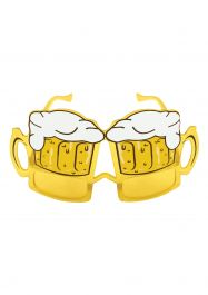 Glasses Adult Beer Yellow Lens