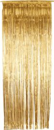 Gold Foil Door Curtain