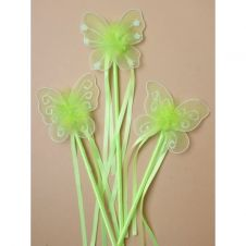 Green Butterfly Wand
