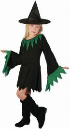 Green Witch Children Costume