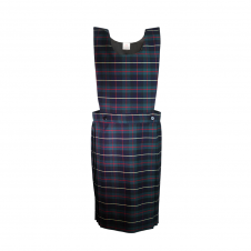 Green/Yellow Tartan Bib Pinafore