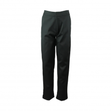 Half Elastic Pull Up Trouser With Zip & Clip