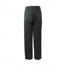 Half Elastic Sturdy Generous Fit Pull Up Trouser