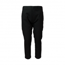 Half Elastic Waist Adjuster Pull Up Trouser
