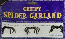 Halloween Creepy Spider Garland