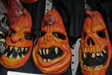Halloween Pumpkin Horror Mask 3 Asstd