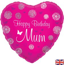 Happy Birthday Mum Balloon (18 Inches)