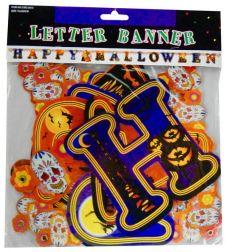 Happy Halloween Letter Banner 183cm