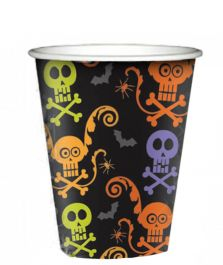 Happy Halloween Spooky Paper Cups (Pack of 8)